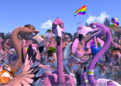 Flamingo pride © Talking animals