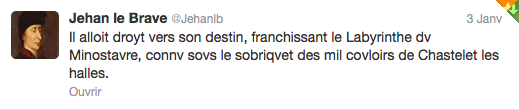 Jehan Le brave Janvier