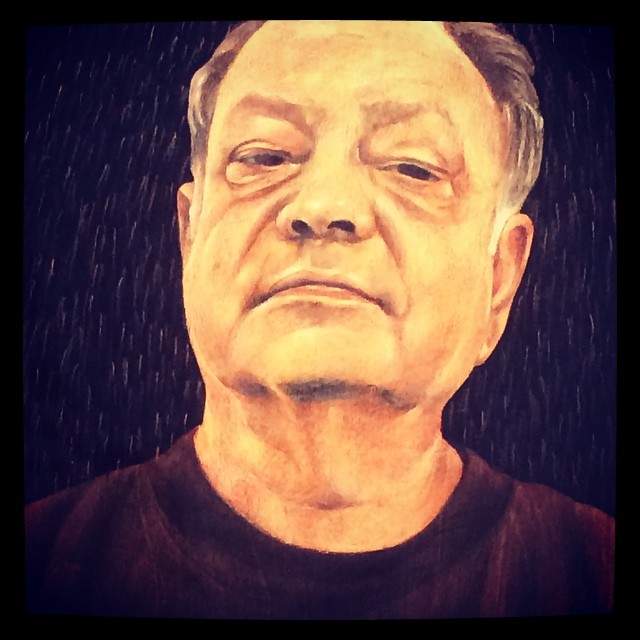 Carlos Donjuán, Portrait of Cheech, 2012. Collection Cheech Marin © FredMJG