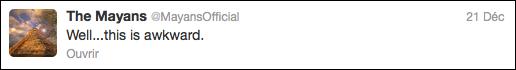 Tweet de lannee 2012
