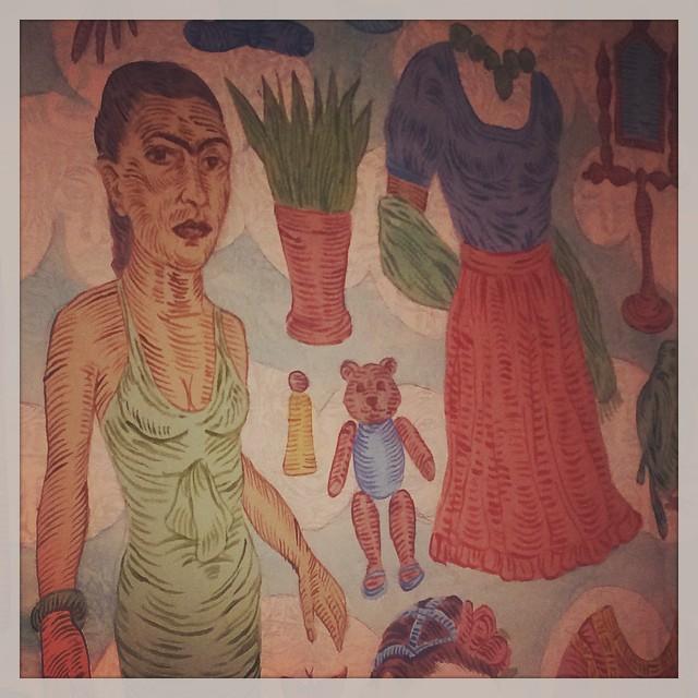 Recordando a Frida de José Lozano_2005 [Détail] © DR/Musée d'Aquitaine — FredMJG/Instagram