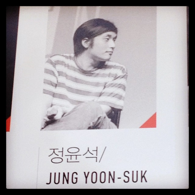 Jung Yoon-suk, réalisateur du documentaire Non fiction diary © FredMJG/Instagram