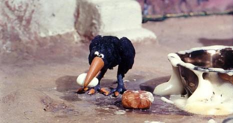 Un jour un corbeau © F3C/DR