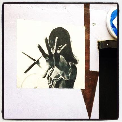 Anna fait le mur © FredMJG/Instagram