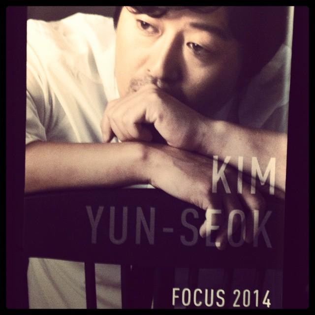 Kim Yun-seok, invité d'honneur du FFCP 2014 © FredMJG/Instagram