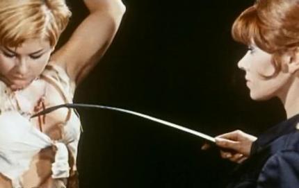 Nathalie Nort & Janine Reynaud s'amusent dans Necronomicon de Jess Franco ©  Aquila Film Enterprises
