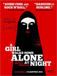 A girl walks home alone at night_Affiche