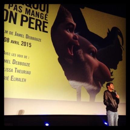 Jamel Debbouze présente Pourquoi j'ai pas mangé mon père • Line up de Pathé © FredMJG