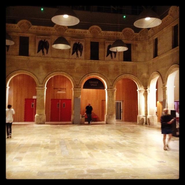 This is the end. Grand Hall de la Coursive © FredMJG