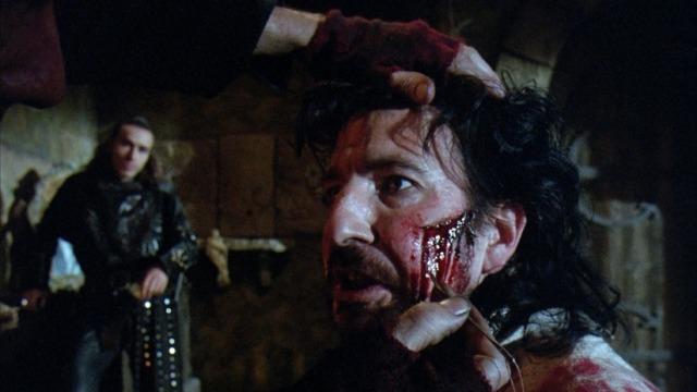 Alan Rickman dans Robin des Bois, prince des voleurs de Kevin Reynolds © Warner Bros.