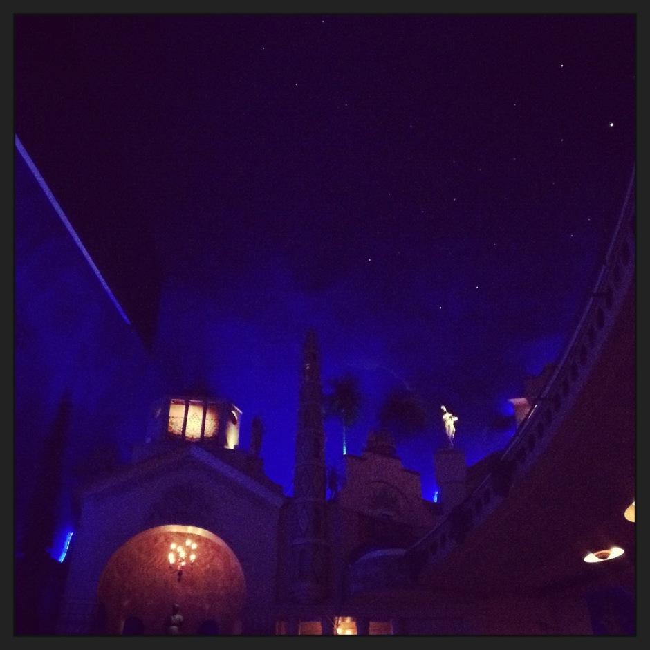 Nuit sur la salle 1 du Grand Rex © FredMJG