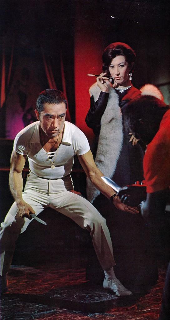 Akihiro Miwa & Yukio Mishima dans Le lézard noir de Kinji Fukasaku © Shochiku Company