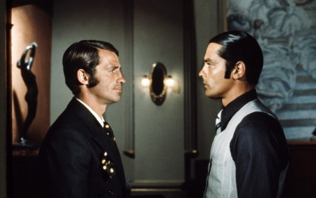 Belmondo vs Delon [dans Borsalino de Jacques Deray sorti en 1970] © Adel Productions