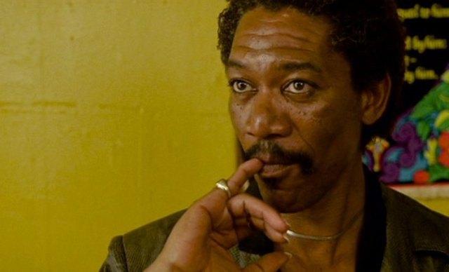 Morgan Freeman dans La rue de Jerry Schatzberg © Golan-Globus Productions