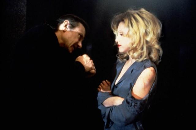 Harvey Keitel & Madonna dans Snake eyes © Maverick Picture Company