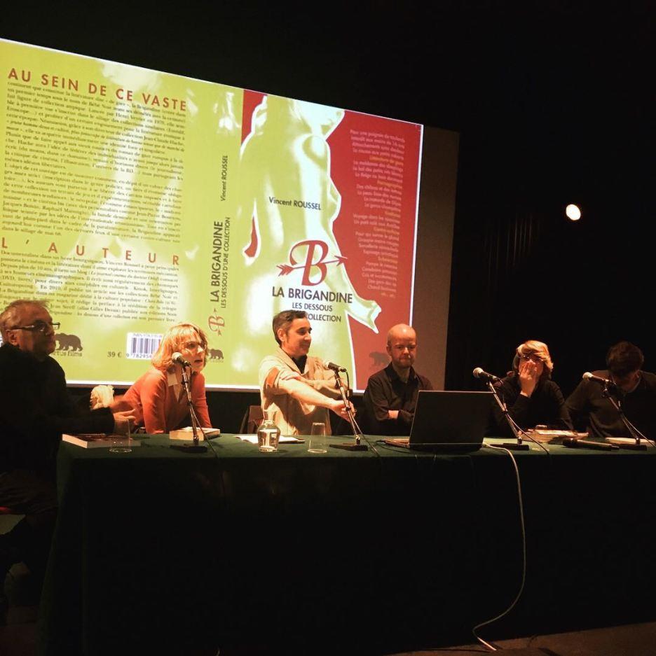 De gauche à droite, Eric Escofier, Clara Laurent, Vincent Jourdan, Vincent Roussel, Joaquim Lepastier & Edouard Sivière © FredMJG