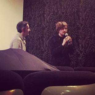 Vincent Jourdan et Julien Doigny, réalisateur de Basja underground durant le Q&A © FredMJG