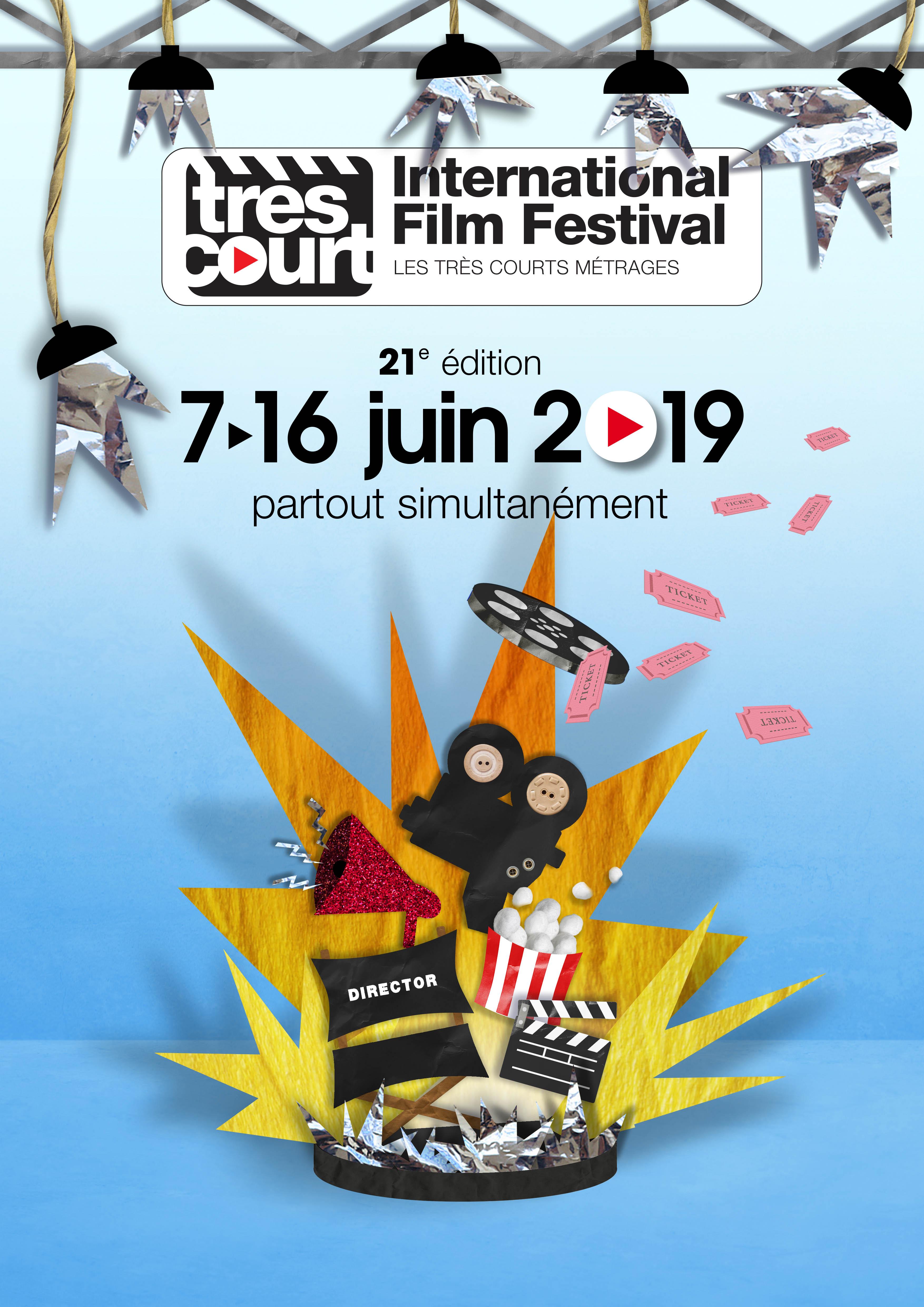 <strong>Très Court International Film Festival</strong> — 21e édition au Forum des Images les 15 & 16 juin 2019