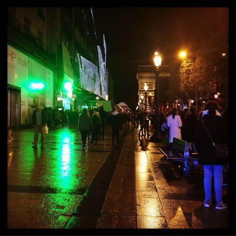 Qu'il vente, qu'il pleuve, qu'il neige, le public répond toujours présent... © FredMJG