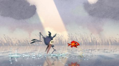 Bird Karma © DreamWorks Animation Studios