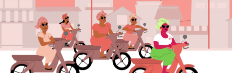 "Culottées ""Leymah Gbowee"" © Miam ! Animation"