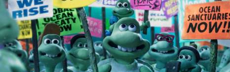 "Greenpeace ""Turtle Journey"" © Aardman Animations LDT."