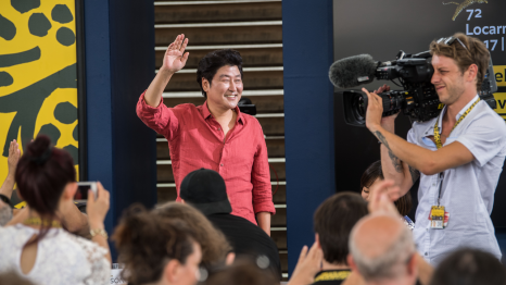 Song Kang-ho. Locarno Excellence Award Conversation © Locarno